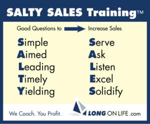 Salty Sales Training(tm)